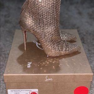 2c07669acfc2 Christian Louboutin Shoes - Louboutin gipsybootie spc 100 glit diams paill